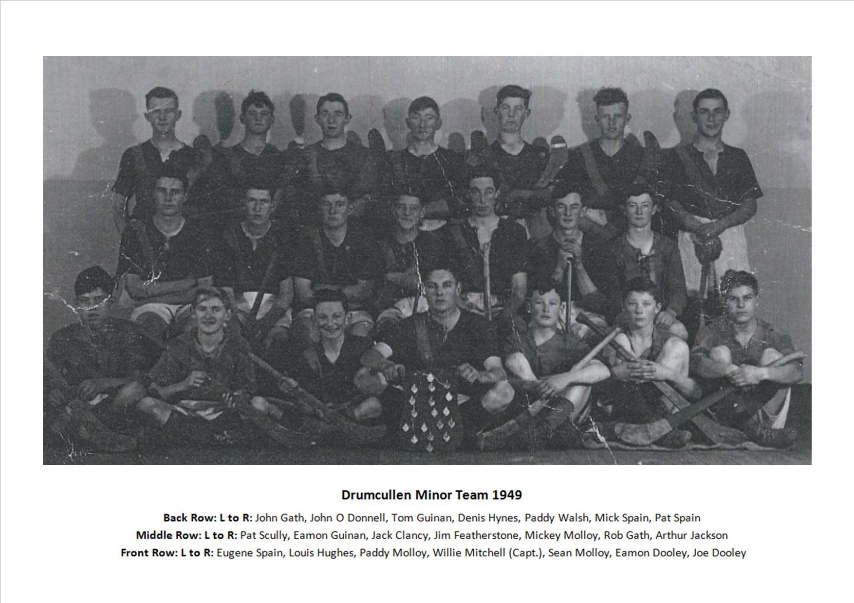 Drumcullen Minor Team - 1949