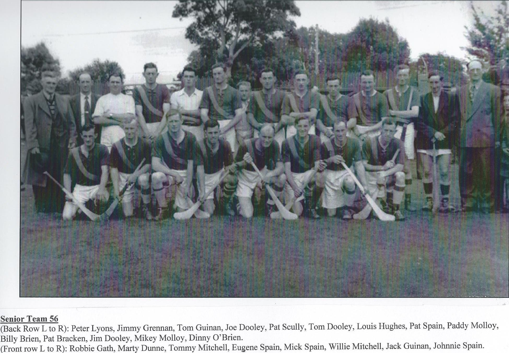 Drumcullen Senior Team - 1956