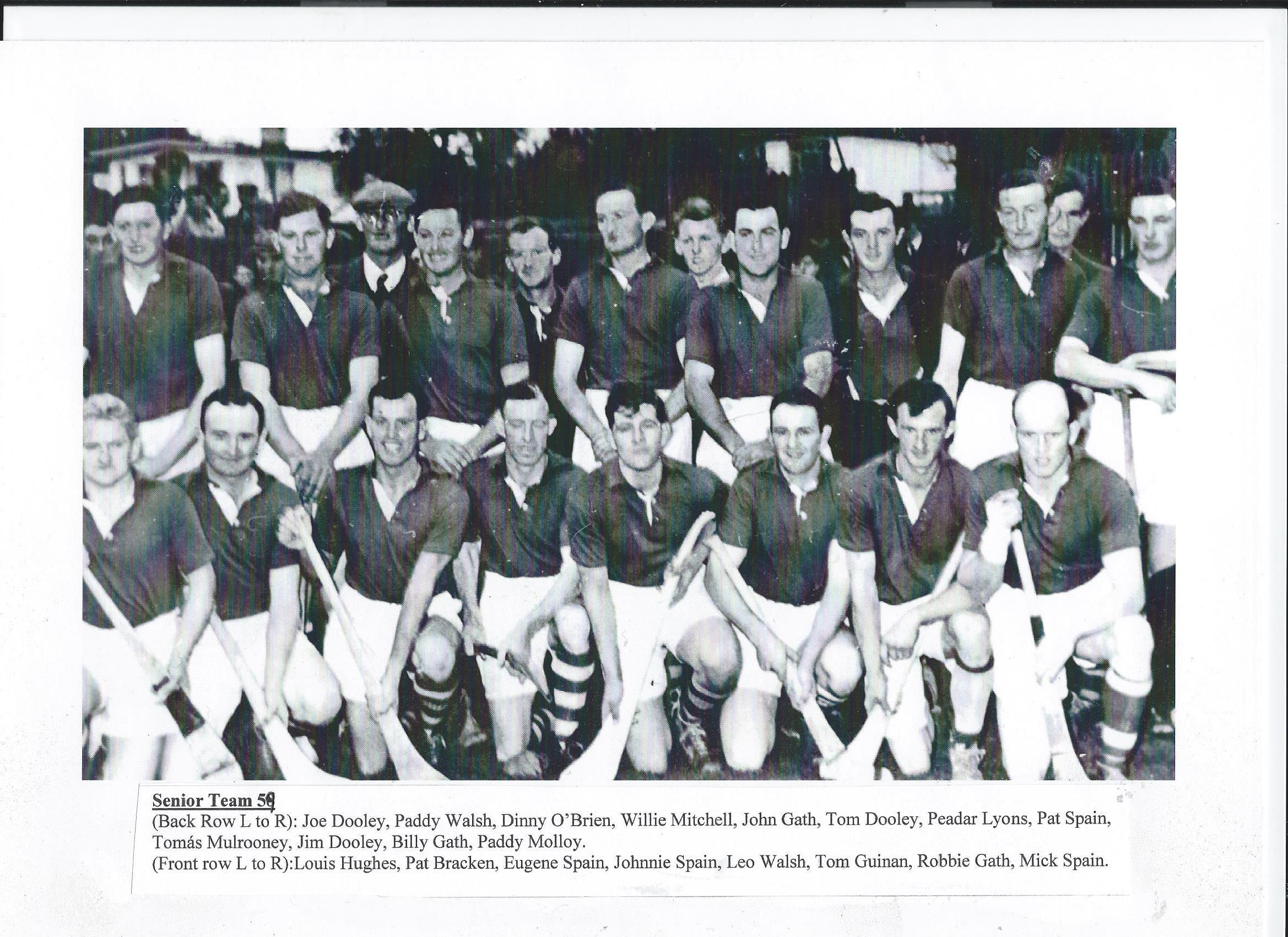 Drumcullen Senior Team - 1959