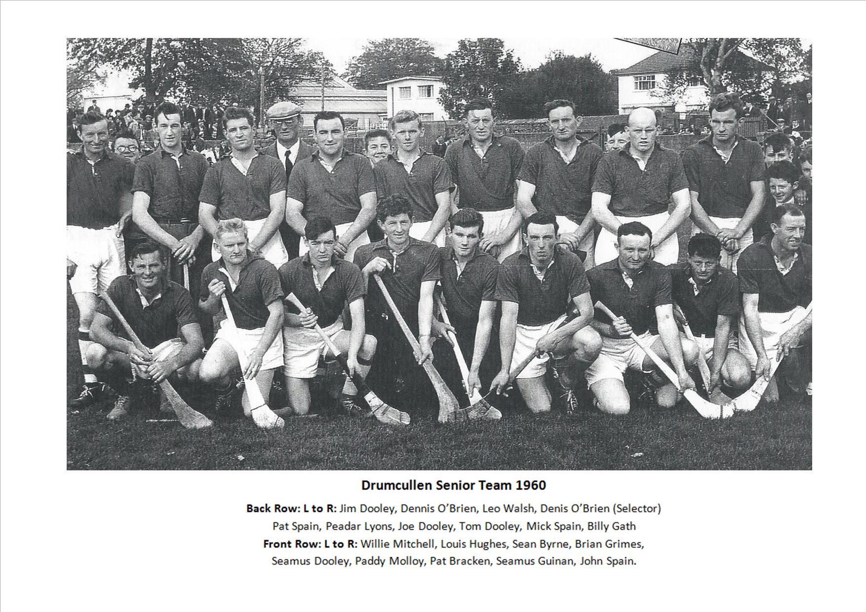 Drumcullen Senior Team - 1960