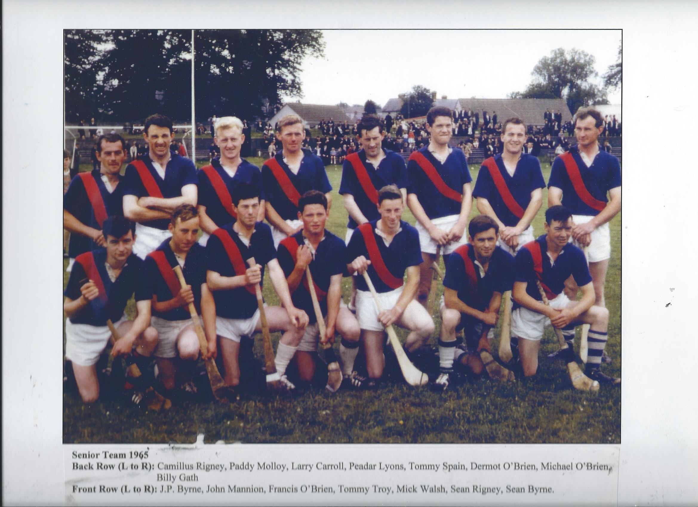 Drumcullen Senior Team - 1965