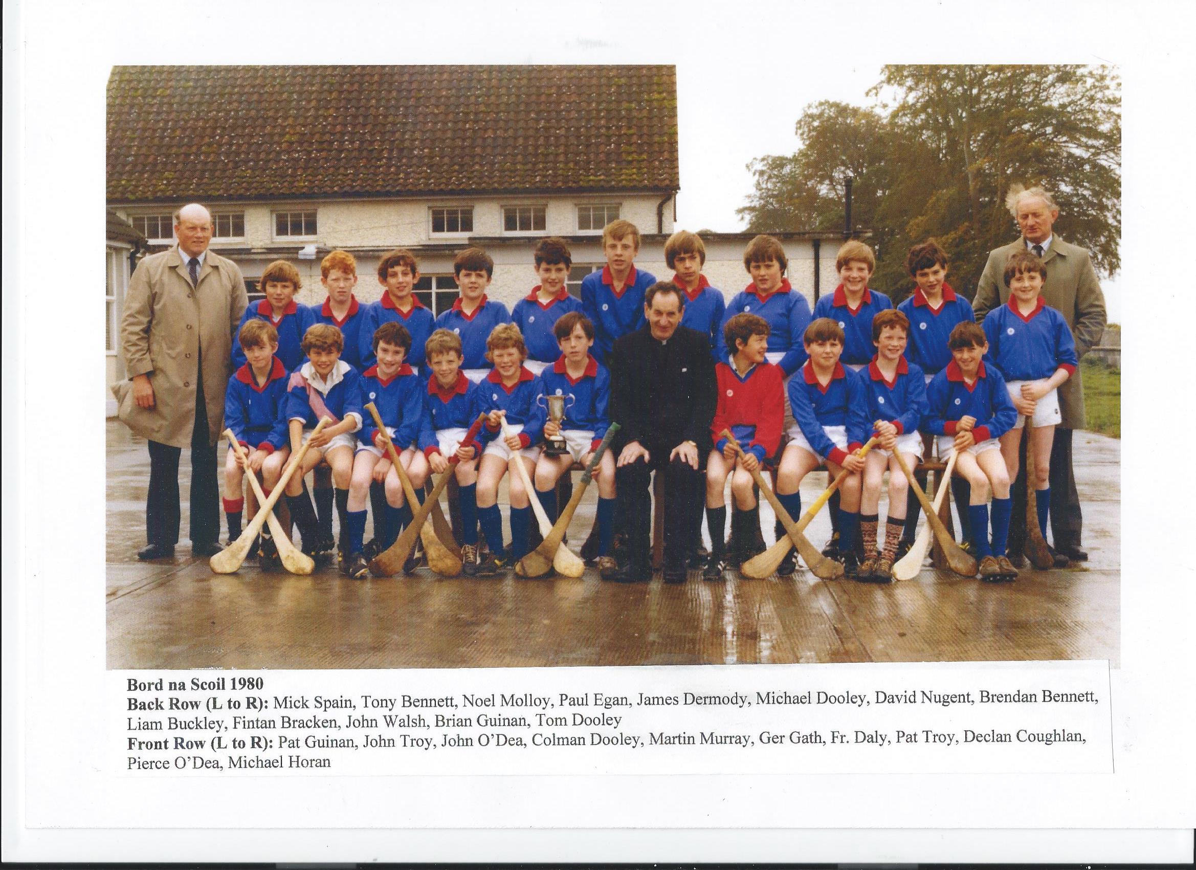 Bord Na Scoil Team - 1980
